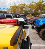 Jeep Meet Up Stock Photos