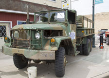 Jeep Military Truck 1971 Fotos de archivo