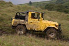 jeep modifiée de concurrence Photographie stock