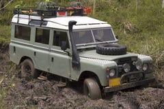 jeep modifiée de concurrence Photographie stock libre de droits