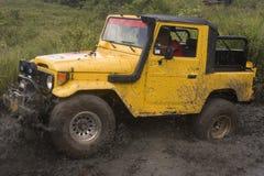 jeep modifiée de concurrence Image libre de droits