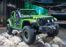 2018 Jeep Mopar Wrangler Rubicon, NAIAS Stock Photography
