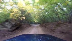 Jeep nelle montagne andare-pro archivi video