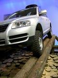 Jeep - nicht für den Straßenverkehr Auto lizenzfreies stockbild