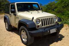 Jeep Off Road in Hawaii, USA Stock Photos
