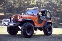 Jeep Offroad Truck Fotografia de Stock