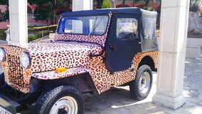 Jeep. Photo is from Rogozica in Croatia Royalty Free Stock Image