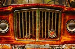 Jeep Pickup Grill d'annata Fotografia Stock Libera da Diritti