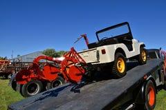 Jeep reconstituée de Willys photo libre de droits