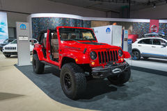 Jeep Red Rock Photos stock