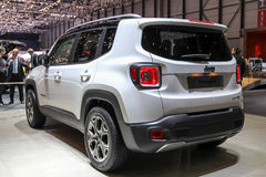 Jeep Renegade 2014 Images libres de droits
