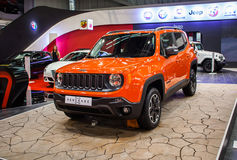 Jeep Renegade Royalty-vrije Stock Foto's