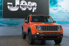 Jeep Renegade Royalty Free Stock Photos
