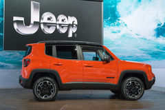 Jeep Renegade 2016 Royalty Free Stock Photo
