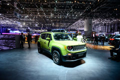 Jeep Renegade 75th Anniversary Edition Royalty Free Stock Photos