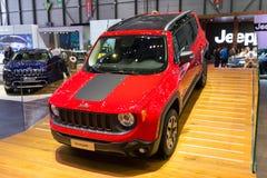 Jeep Renegade Trail Hawk Diesel 2015 photo libre de droits