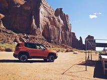Jeep Rest Stop Foto de archivo