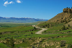 Jeep road, Wyoming Royalty Free Stock Photo