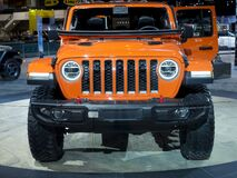 Jeep Rubicon Gladiator truck at the annual International auto-show, February 9, 2019 in Chicago, IL
