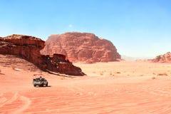 Free Jeep Safari In Wadi Rum Desert, Jordan Royalty Free Stock Image - 130974326