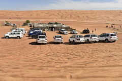 Jeep Safari in the Wahiba Desert Royalty Free Stock Images