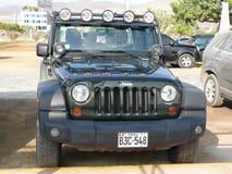 Jeep Size Matters Imágenes de archivo libres de regalías