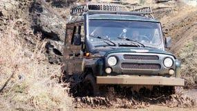 Jeep-sprint Stock Foto's
