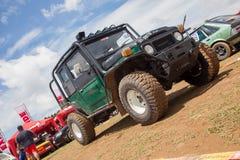 jeep in srilanka Royalty Free Stock Image