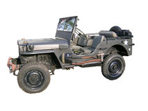 jeep stary zdjęcia royalty free