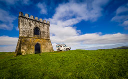 Jeep tour in the Azores Stock Images