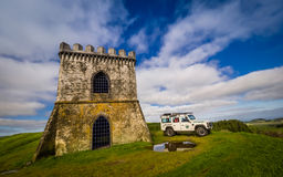 Jeep tour in the Azores Royalty Free Stock Photos