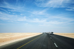 Jeep Tour safari road in the desert Oman Salalah. Jeep Tour safari road in the desert in Oman Salalah stock photo
