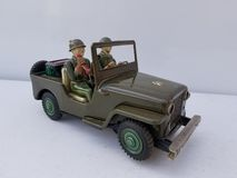 JEEP toy bump go royalty free stock image