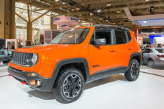 Jeep Trail Hawk 4x4 in CIAS Royalty-vrije Stock Afbeelding