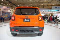 Jeep Trail Hawk 4x4 in CIAS Royalty-vrije Stock Foto