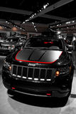 Jeep Trailhawk concept car. Taken at the National Auto Show Stock Images
