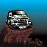 Jeep vert Image stock