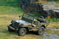 Jeep Willys 1944 Royalty-vrije Stock Foto