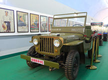 Jeep willys auto Royalty-vrije Stock Fotografie
