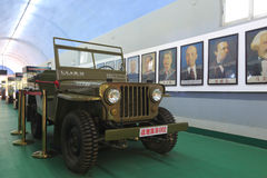 The jeep willys car Royalty Free Stock Images