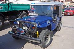 Jeep Willys cj-2 klassieke auto Royalty-vrije Stock Fotografie