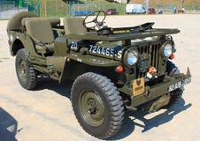 Jeep World War americano II Fotografia de Stock