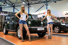 Jeep Wrangler  Stock Images