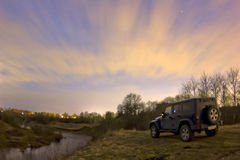 Jeep Wrangler Royalty-vrije Stock Foto's