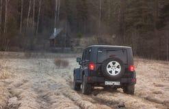Jeep Wrangler Royaltyfria Foton