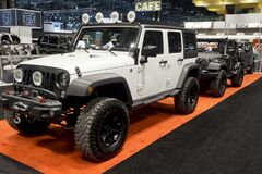 Jeep Wrangler the annual International auto-show, February 9, 2019 in Chicago, IL