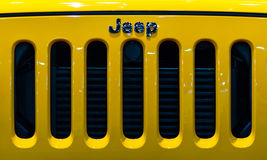 Jeep Wrangler. Royalty Free Stock Images