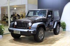 Jeep wrangler car Stock Photography
