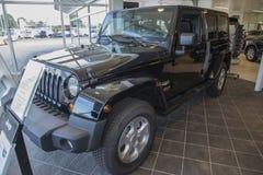 Jeep wrangler, de Sahara Stock Afbeeldingen