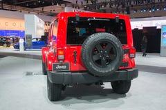 Jeep Wrangler 2015  on display Royalty Free Stock Image